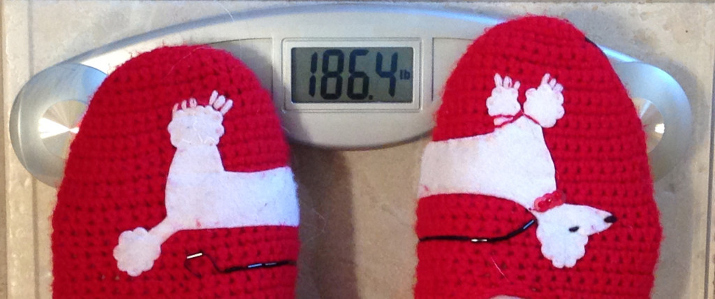 186 pounds